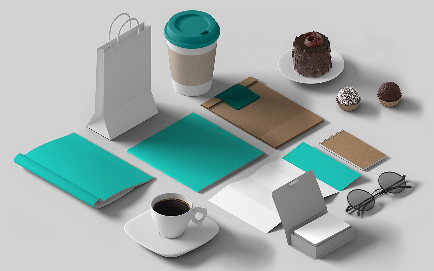 Brand Identity Product Layout