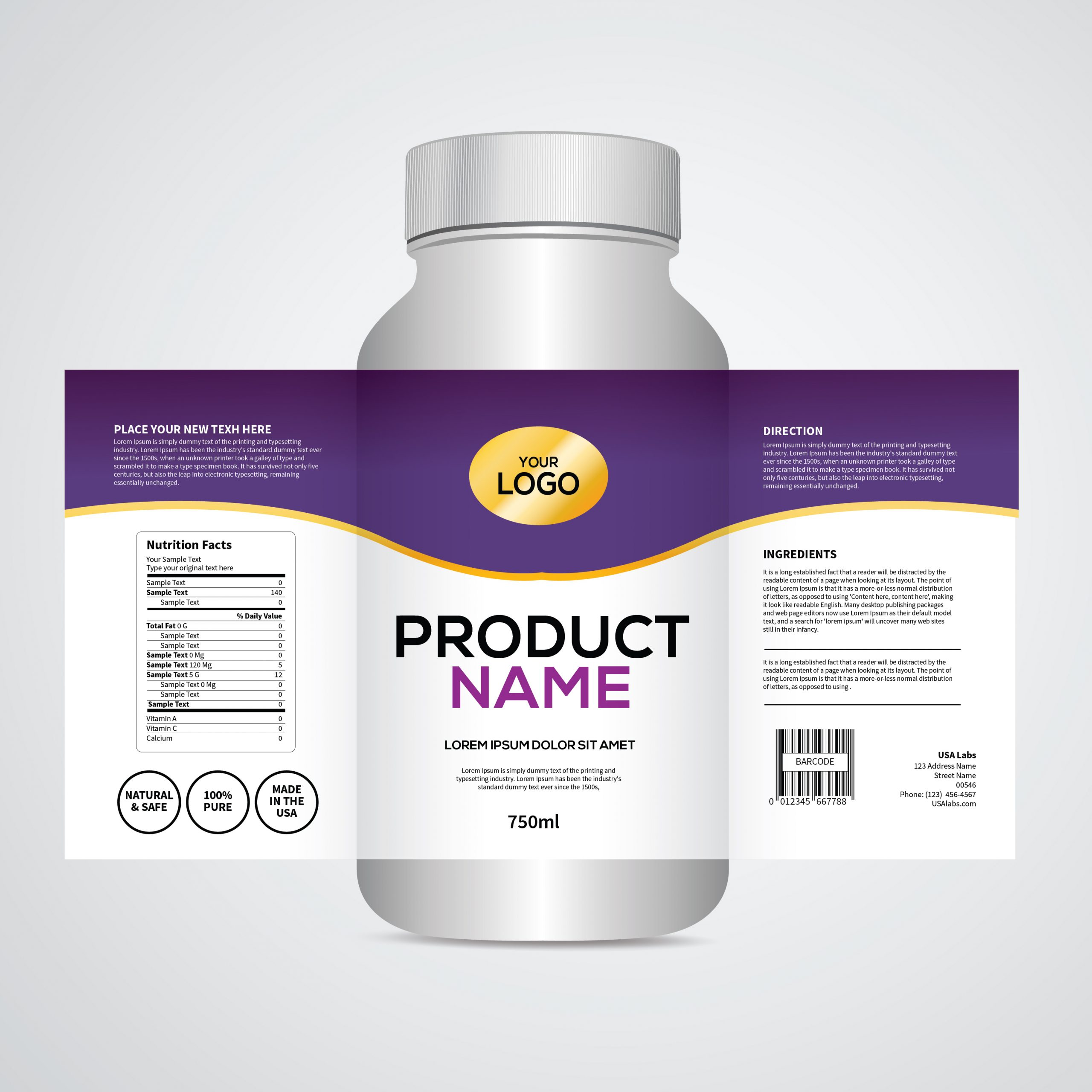 Label Solutions Sharp Graphics Custom Labels